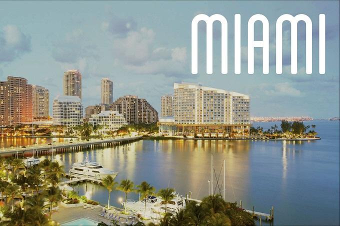 Phòng vé máy bay đi Miami, Mỹ