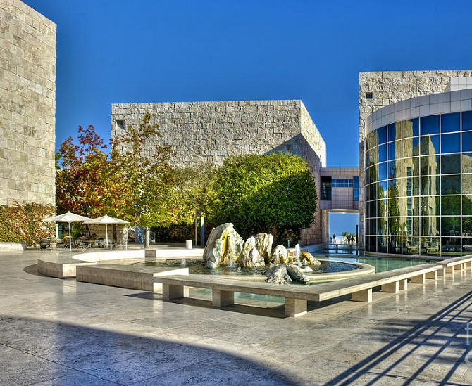 J. Paul Getty center